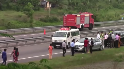 Newlywed couple injured in car crash on expressway