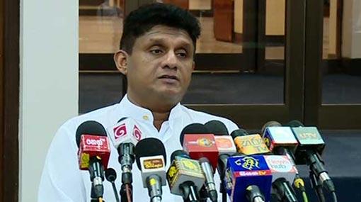 Rajapaksa must confess to his sins to regain trust of Sri Lankans - Sajith