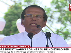 President vows to safeguard country&#39s freedom and democracy (English)