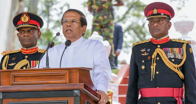 President says he is committed to strengthening country's democracy and freedom