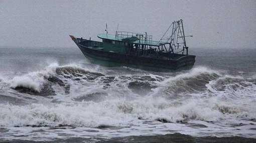 Naval & fishing communities cautioned of cyclonic storm 'PHETHAI'