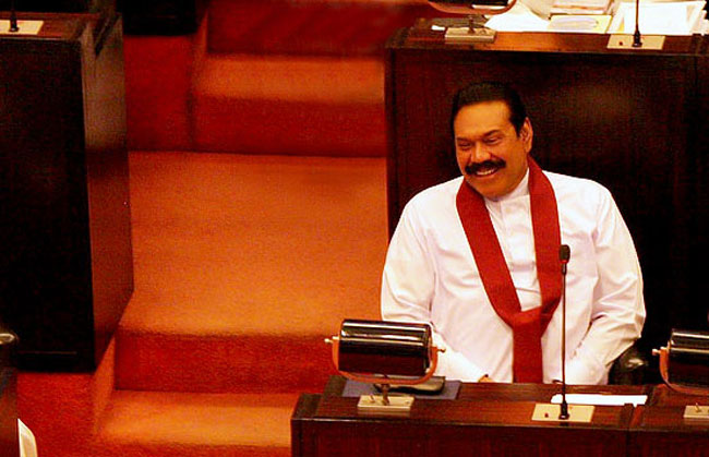 Lawmakers question Rajapaksa's parliamentary seat