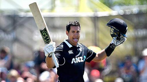 Taylor, Nicholls power New Zealand to 364 against Sri Lanka