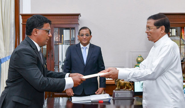 Keerthi Tennakoon appointed Southern Province Governor