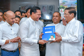 Dayasiri assumes duties as SLFP General Secretary…