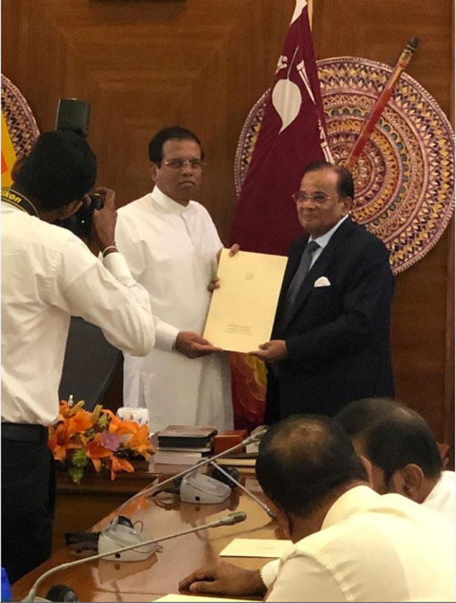 Muzammil appointed CEA Chairman