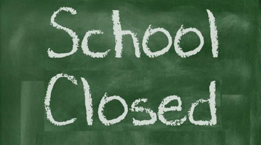 Schools in North to remain closed on Monday