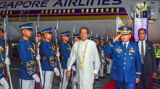 Sri Lanka-Philippines bilateral talks today