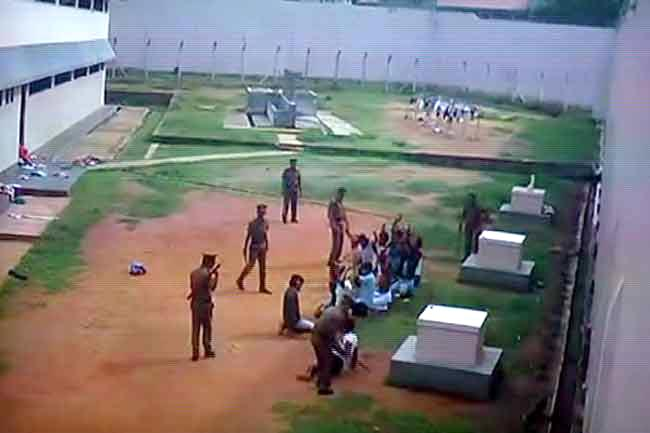 Violent assault on Agunukolapelessa inmates caught on CCTV
