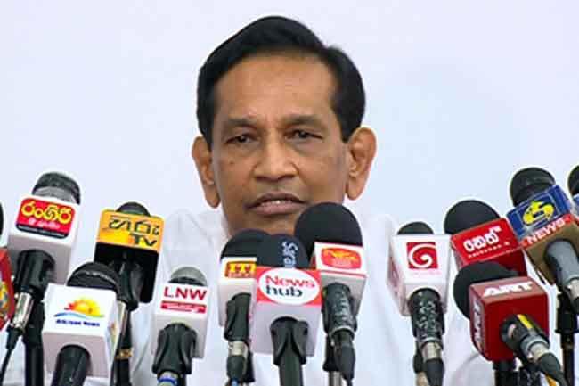 Dr. Padeniya is with goal of becoming minister – Rajitha