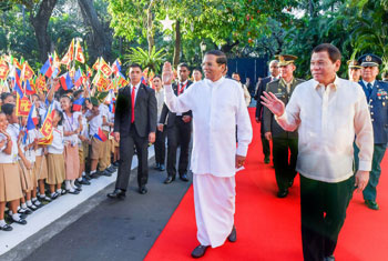 President in Philippines…