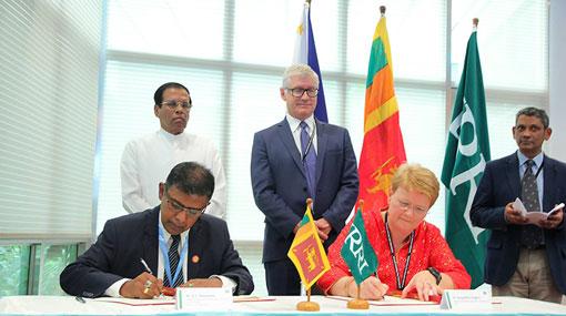 Sri Lanka and IRRI sign framework to boost national rice sector