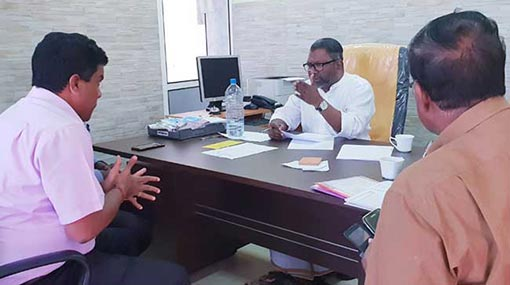 Raghavan calls for proposal on channelling Iranamadu water to Jaffna