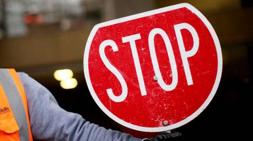 Traffic restriction on Panadura-Ratnapura road