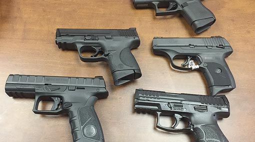 Licenses of 9 mm firearms temporarily cancelled