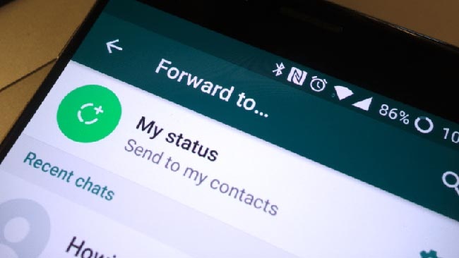 WhatsApp limits text forwards to five recipients to curb fake news