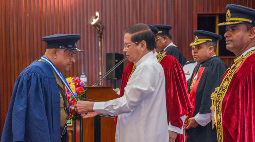 Activities to strengthen Sri Lanka Police were neglected – President