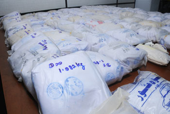 Five nabbed with 90kg of heroin...