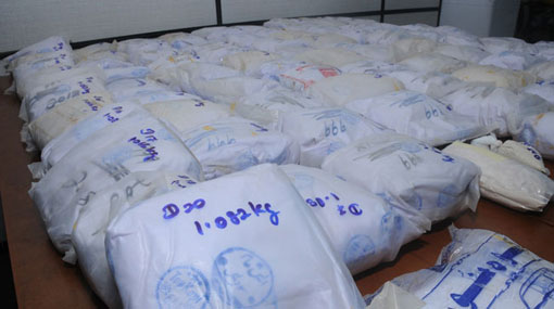 Suspects arrested with 95 kg of heroin detained till Jan 29