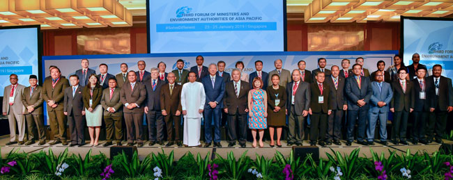 Third Forum of Ministers and Environment Authorities of Asia Pacific...