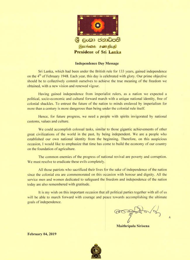 Should commit to achieving the true meaning of freedom  - President