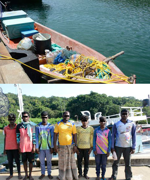 Seven Indian fishermen arrested in Eastern seas