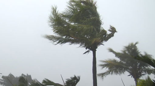 Winds expected to strengthen over the island