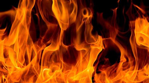 Shoe shop in Bambalapitiya catches on fire