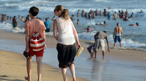 Sri Lanka's tourist arrival grows 2.2 percent in January – report