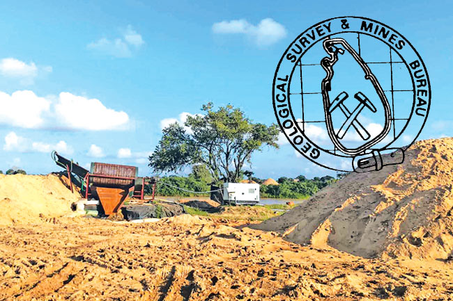 All sand mining permits in Trincomalee district suspended