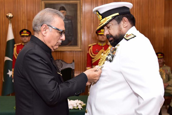 Pakistan confers Nishan-i-Imtiaz to Admiral Wijegunaratne…