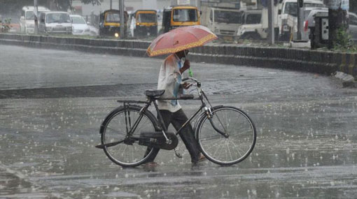 Met Dept. predicts showers in several districts