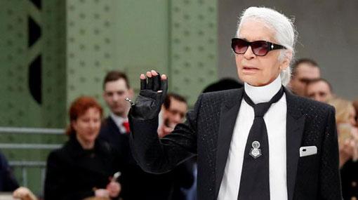 Legendary designer Karl Lagerfeld dies