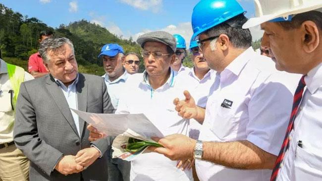 President instructs to speed up construction work of Uma Oya