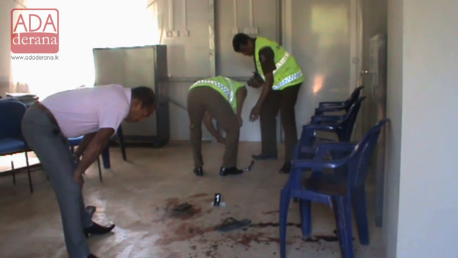 Man clubbed to death inside a police station