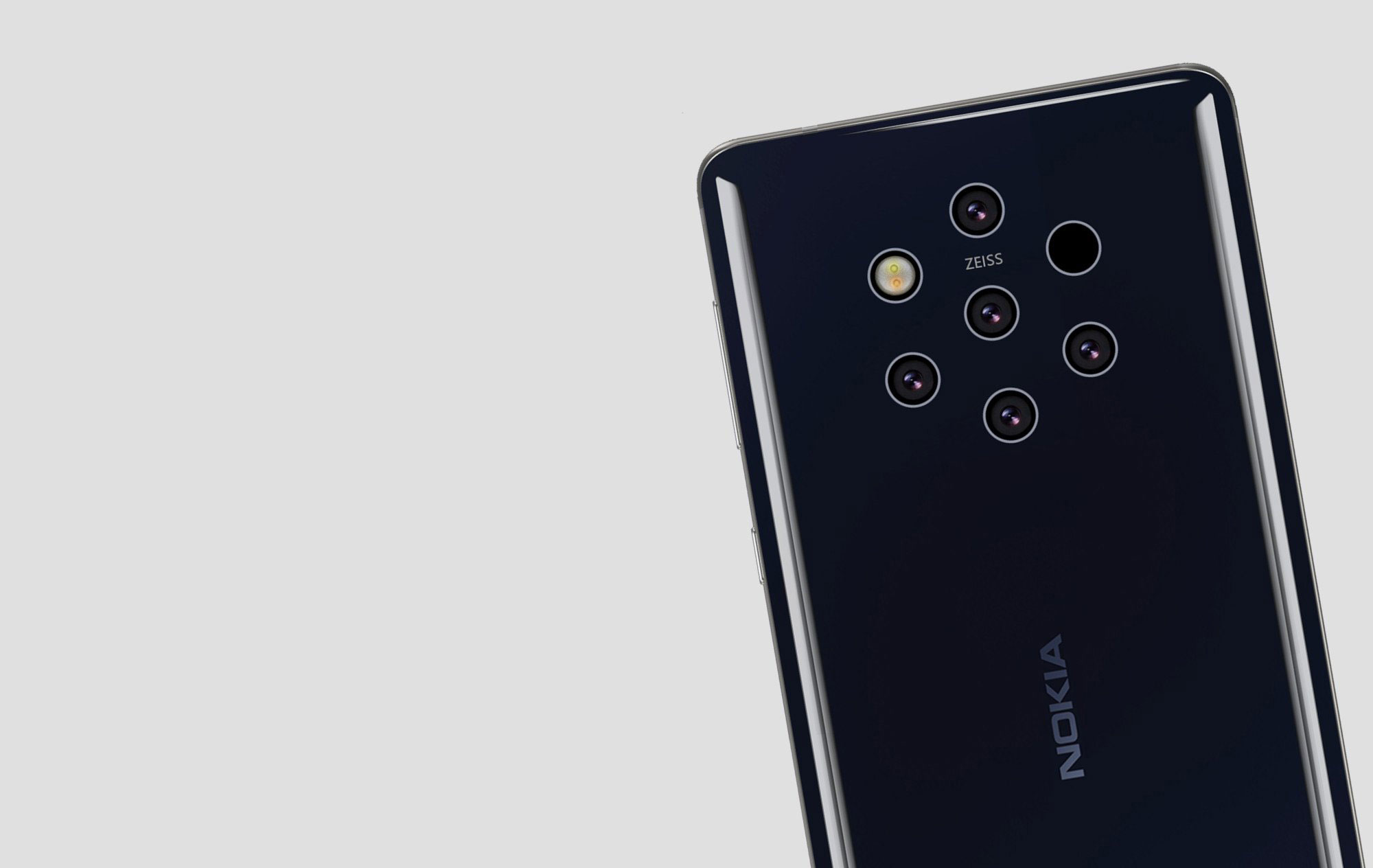 Nokia 9 PureView uses five cameras to take a photo
