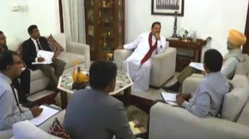 Indian High Commissioner meets Opposition Leader