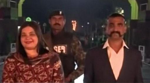 Abhinandan, captured Indian pilot, freed by Pakistan