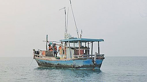 25 Sri Lankan fishermen arrested in Maldivian waters