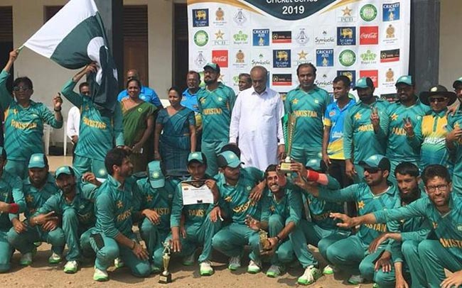 Pakistan blind cricketers stranded in SL due to closure of Lahore airport