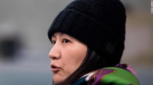 Huawei CFO sues Canada authorities over illegal arrest