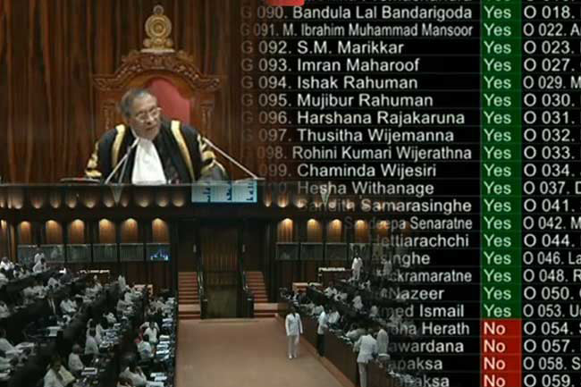 Second Reading of Budget 2019 passed in parliament