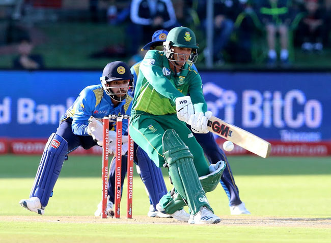 Quinton de Kock leads the way as South Africa take 4-0 series lead
