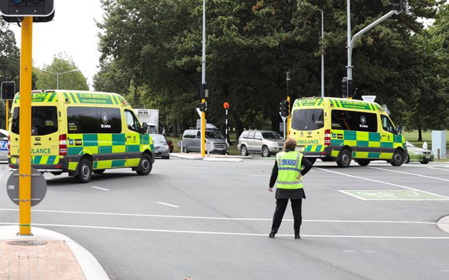 Police respond to two mass shootings inside Christchurch mosques