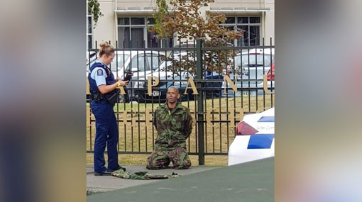 Christchurch Shooting Picture: Four People In Custody In Mosque Shooting In Christchurch
