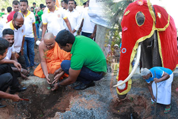 Manusath Derana completes 'One Million Trees' project…