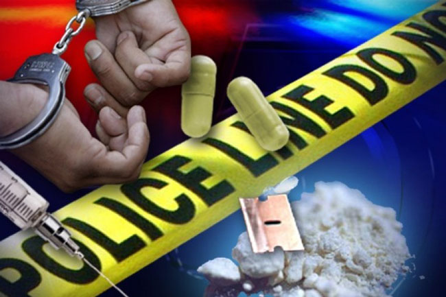 Two nabbed with various drugs and firearms in Ja-Ela