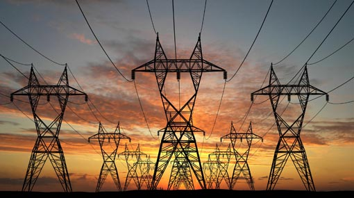 Power interruptions in several areas