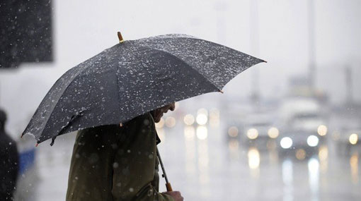 Showers expected in six provinces after 2pm