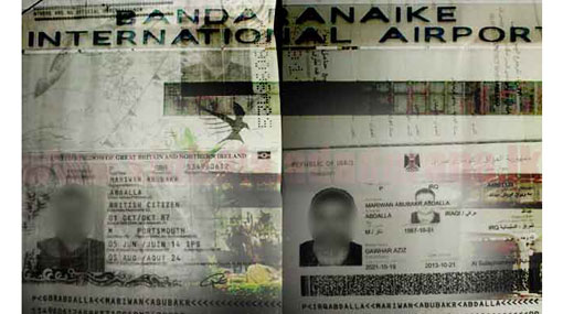 Iraqi national held at BIA with fake British passport